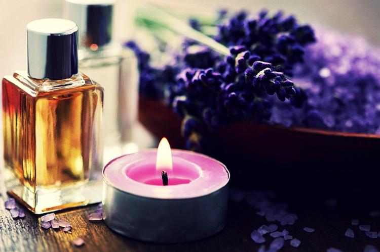 ароматерапия лавандовым маслом для зачатия - рисунок