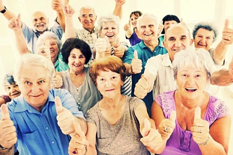 Запах тела счастливых пожилых людей приятный