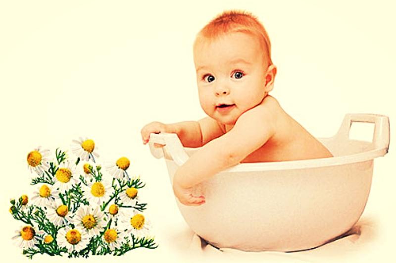 купание ребенка в ванне добавлением эфирных масел