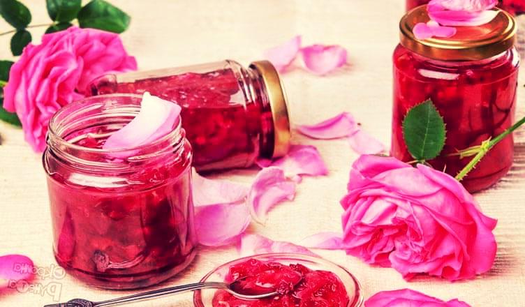 натуральный ароматизатор - баночки с лепестками роз